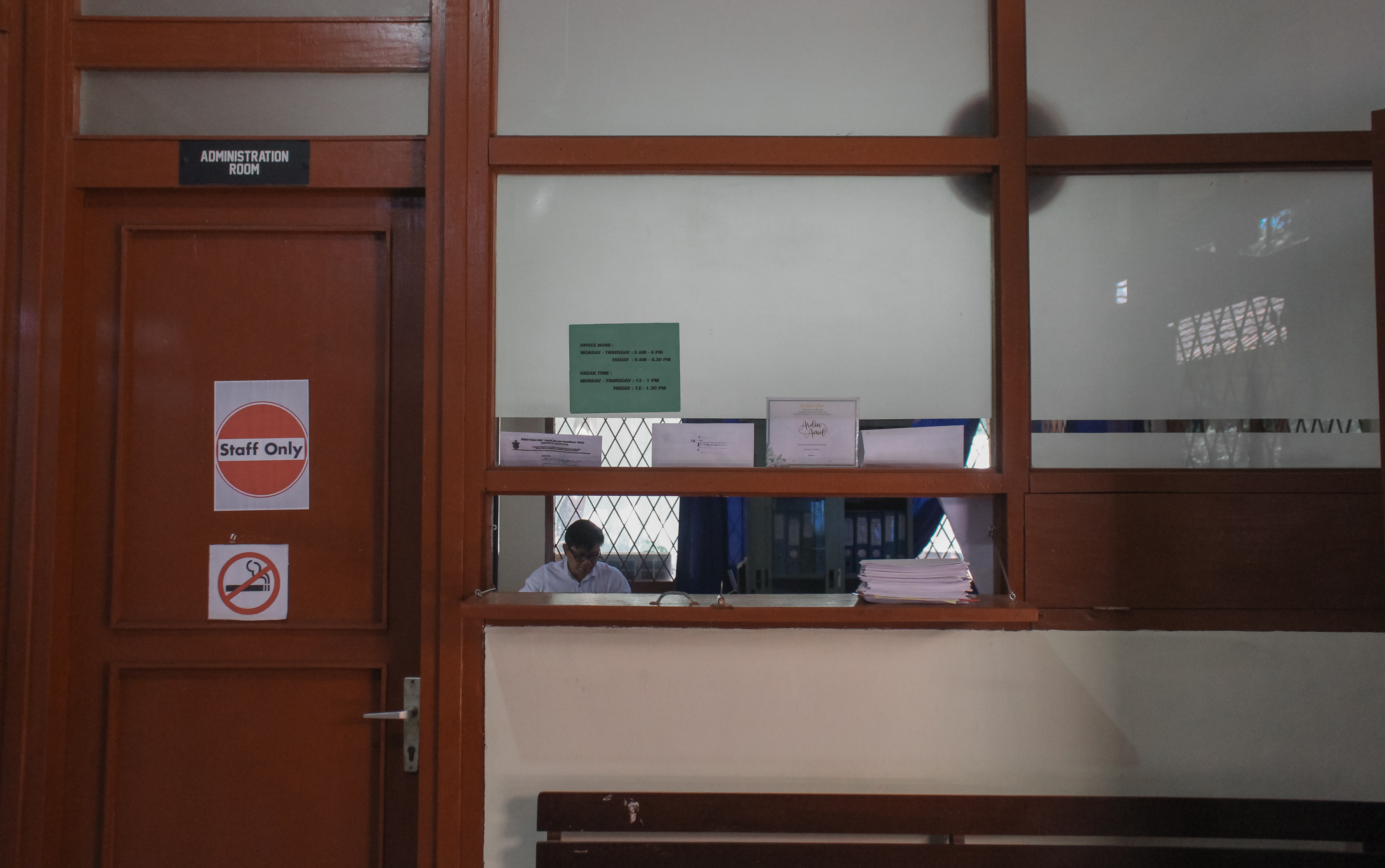 Administration room